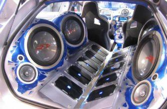 Крутая акустика в автомобиле
