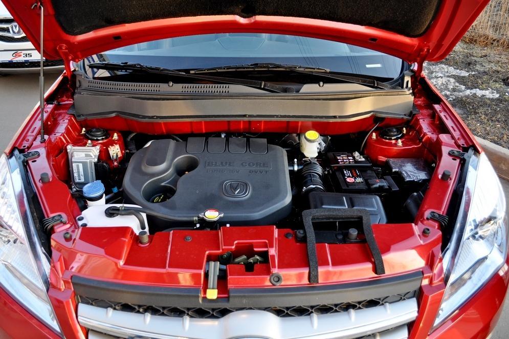 Двигатель Changan CS35