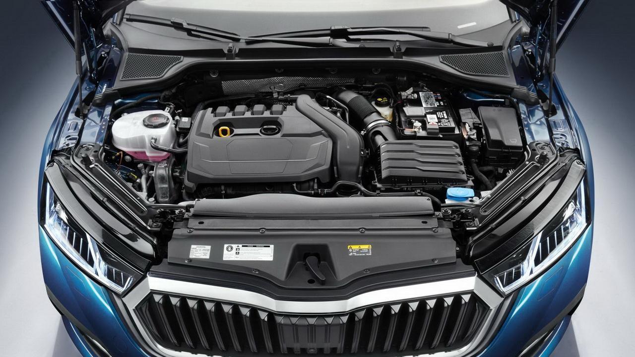 Двигатель Skoda Octavia 2020