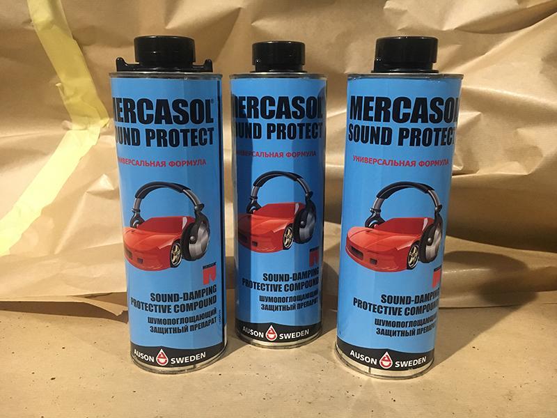 Шумоизоляция Mercasol Sound Protect в балончике