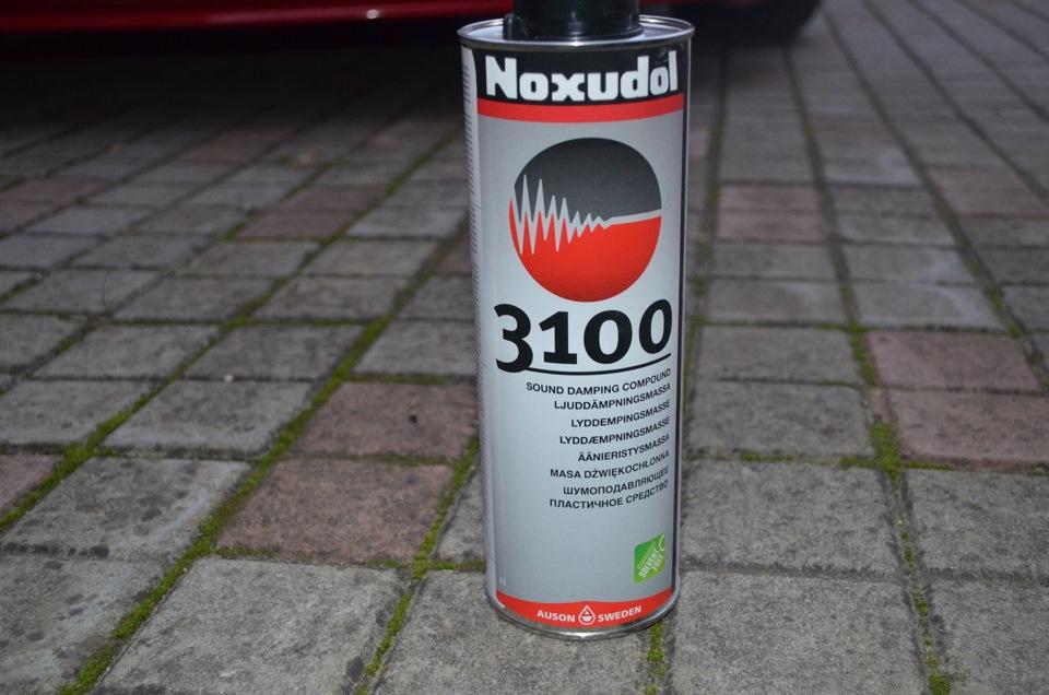 Шумоизоляция Noxudol 3100 в балончике