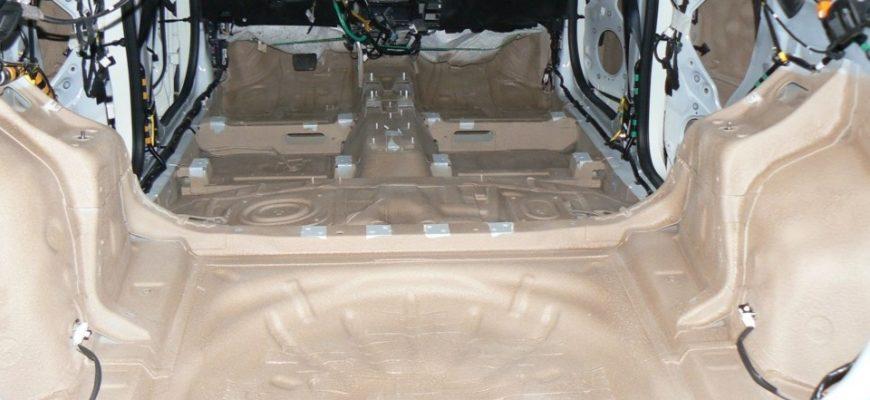 Жидкая шумоизоляция для авто в баллончиках