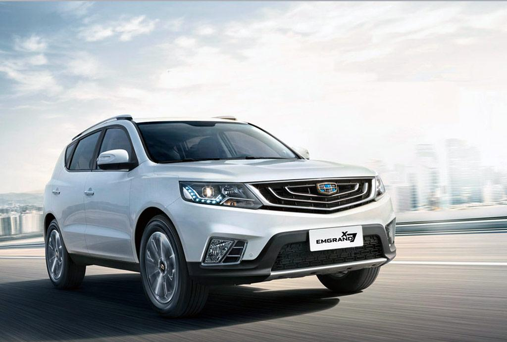 Geely Emgrand X7 2021