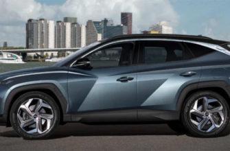 Хендай Туссан 2021 модельного года