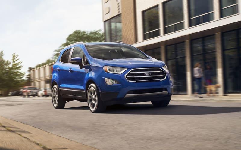 Ford EcoSport 2021 года