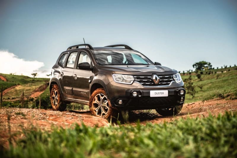 Renault Duster 2021 года