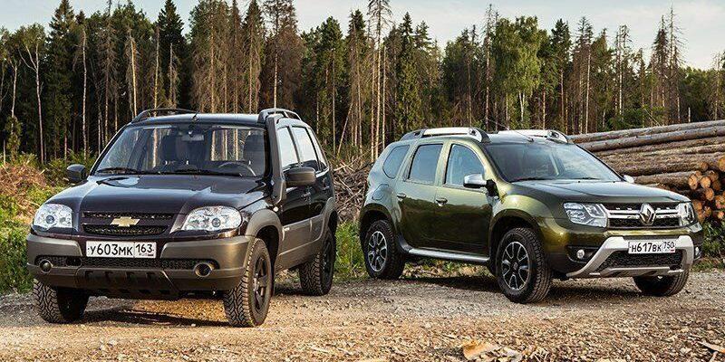 Что лучше Renault Duster или Chevrolet Niva