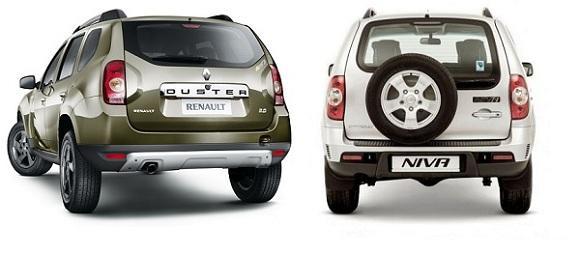 Сравнение Renault Duster и Chevrolet Niva