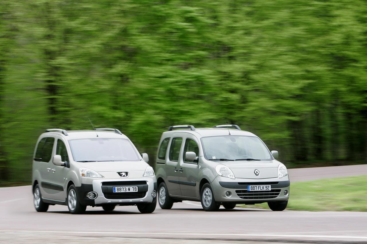 Renault Kangoo и Fiat Doblo