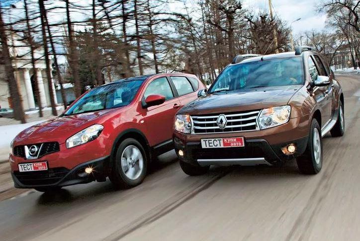 Тест Renault Duster и Nissan Qashqai