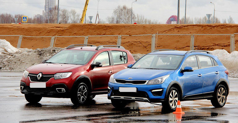 Что лучше Kia Rio X-Line или Renault Kaptur